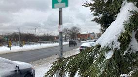 New York snowfall reports