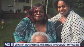 Virginia woman dies hours after receiving Pfizer COVID-19 vaccine
