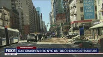 Van driver arrested in Manhattan crash