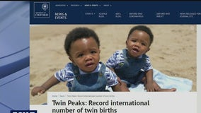 Record number of twin births seen around the world