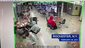 High school security guard saves choking student with Heimlich maneuver