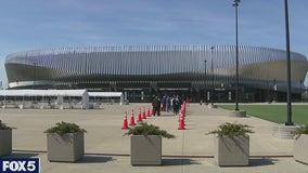 Nassau Coliseum vaccination site opens