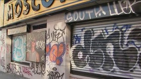 New York City graffiti cleanup efforts by NYPD