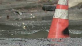 Crews in NJ take on major pothole repair work