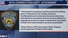 In protocol breach, calls between Rikers Island inmates, lawyers recorded