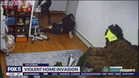 Woman followed home in violent robbery