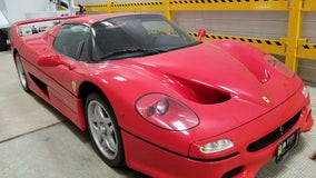 Ferrari stolen in Italy 18 years ago discovered at U.S.-Canada border