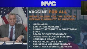NYC Milestone: 2 million vaccinated; mayor asks for more control