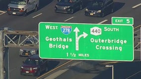 New 'Geothals Bridge' sign on Staten Island Expressway spelled wrong
