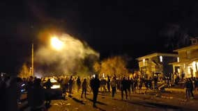 Hundreds flooded streets near Colo. university for massive 'party' that ended in clash with police
