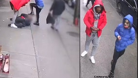Shocking video shows man beaten and robbed on Bronx sidewalk