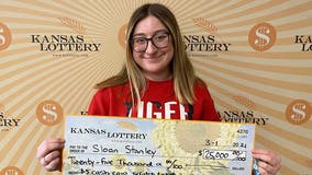 18-year-old wins $25,000 with first lottery ticket