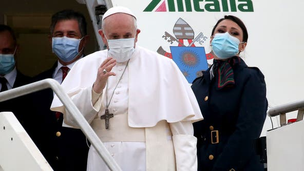 Pope Francis lands in Iraq to rally Christians despite pandemic