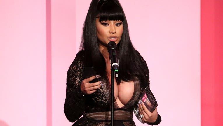 Nicki Minaj accepts the Gamechanger Award