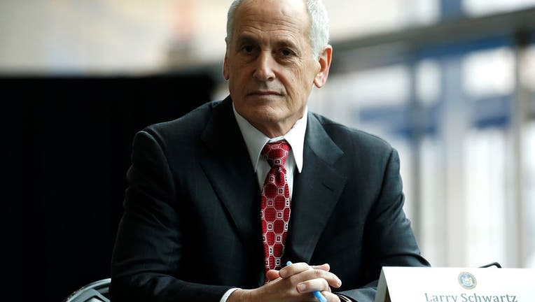 Former secretary to the Governor Larry Schwartz.
