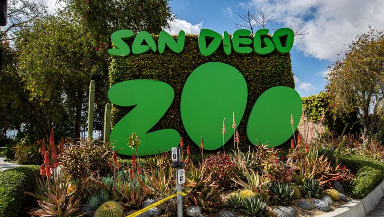 General view outside San Diego Zoo
