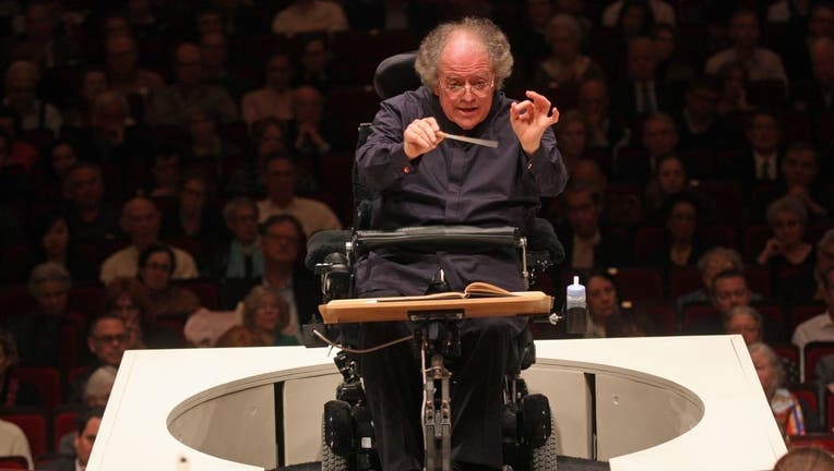 James Levine leading the Met Orchestra