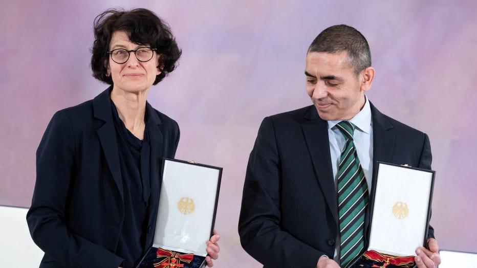 Federal Cross of Merit for Biontech founder