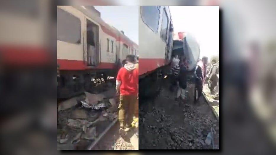 Egyptian train collision