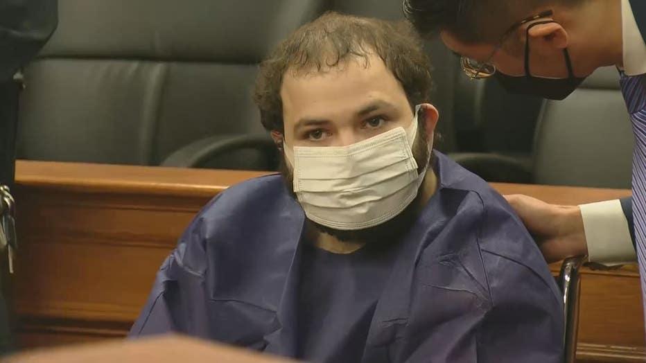 Ahmad Al Aliwi Alissa in court