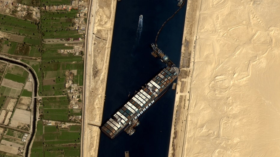 Suez crisis to trigger losses for Egypt, world trade