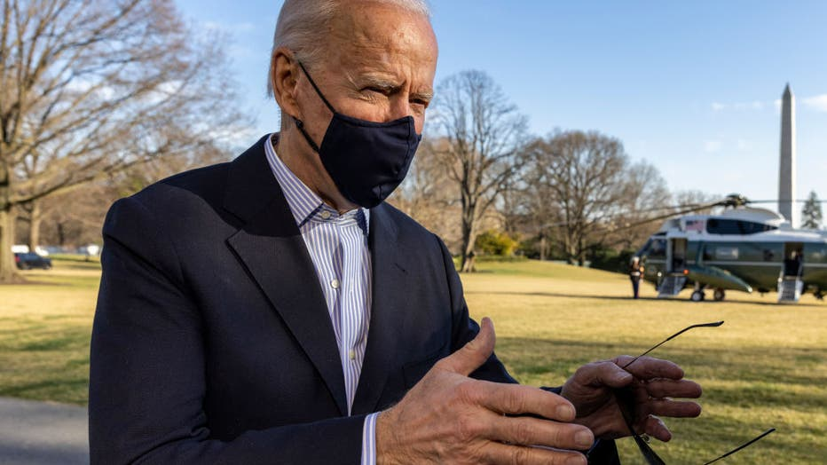 President Biden Returns To White House From Camp David