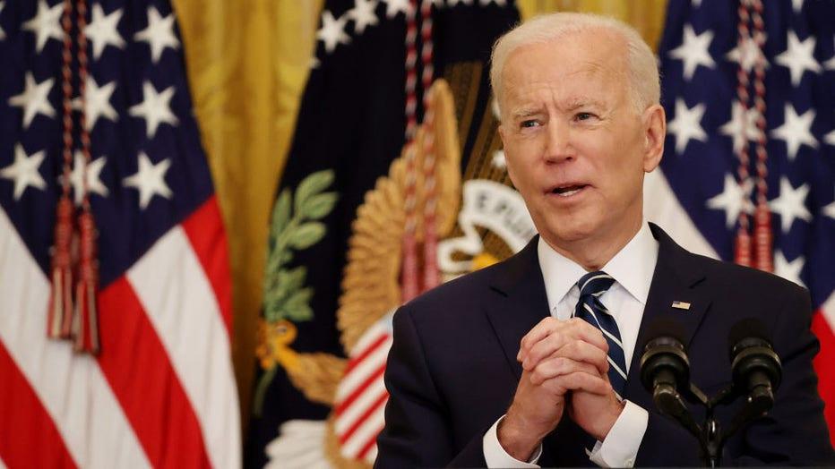 5722fd29-Joe Biden Holds First Press Conference As President
