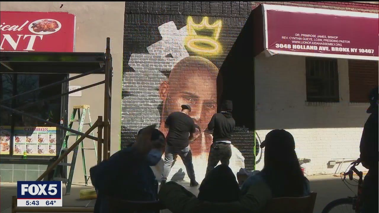 New DMX mural in the Bronx pays homage to hip hop icon