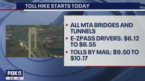 Toll hike begins