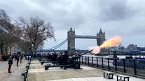 Prince Philip honored with 41-gun salutes throughout the Commonwealth