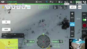 Drone locates stranded hikers in Utah