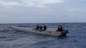 U.S. strike force intercepts narco-submarine near Puerto Rico