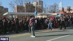 Prayer vigil for rapper DMX held outside White Plains Hospital