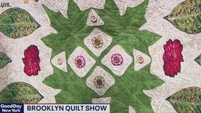 Earth Day Quilt Fence Showin Brooklyn | PREVIEW