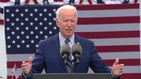 President Biden marks 100th day in office in Georgia pushing new spending plan