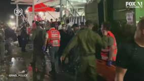 Stampede at religious event in Israel kills dozens