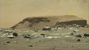 NASA gets first weather report from Mars rover landing site