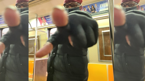 NYPD searching for man who hurled anti-Asian slurs at woman on NYC subway