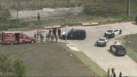 Suspect in custody following chase in stolen Dallas Fire-Rescue ambulance