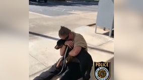 Video: Owner and stolen dog have emotional reunion after being separated for 3 days