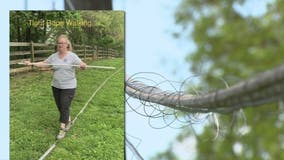 Northern Virginia woman bombards internet company with memes hoping to have down cable removed from yard