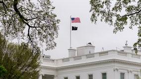 Biden returns prisoner-of-war flag to pole on top of White House