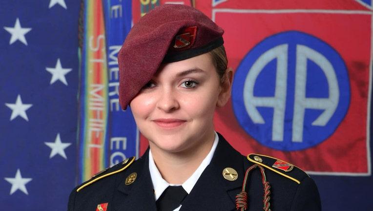 U.S. Army Specialist Abigail Jenks.