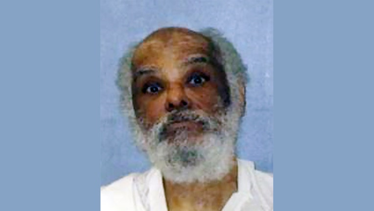 This photo provided by the Texas Department of Criminal Justice shows Raymond Riles.(Texas Department of Criminal Justice via AP)