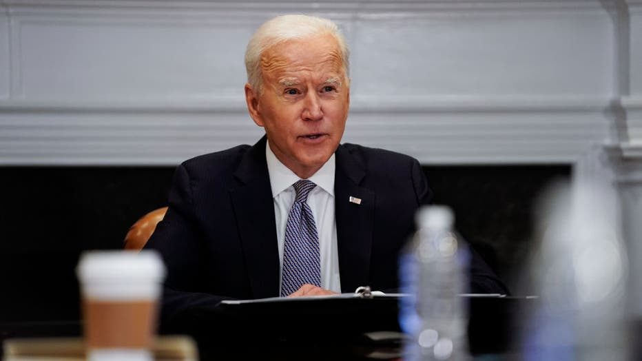 President Biden Joins Virtual CEO Summit On Semiconductor And Supply Chain Resilience