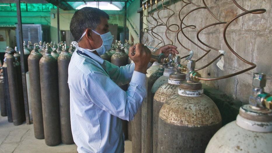 India oxygen