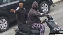 Attempted moped theft in the Bronx