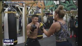 Meet The Mitt Queen, the woman with amazing boxing speed work