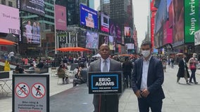 Mayoral candidates react to Times Square shooting