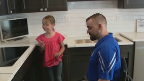 Wounded NJ veteran receives 'smart home'